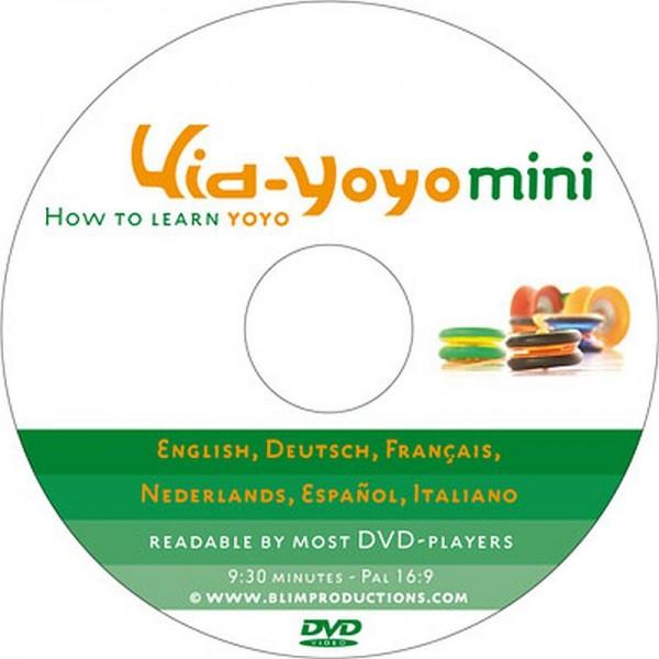 DVD Kid-Yoyo mini - How to learn Yoyo
