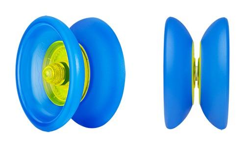Henrys Cobra ice-blau mit gelber Nabe