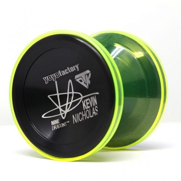 Yoyofactory Nine Dragons - grün/schwarz
